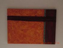 Durchbruch, Acrylbild ca. 50 x 70 cm