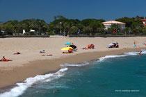 Argeles' south beach