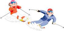 スキーリフト補助券の配付