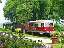 DHEF Triebwagen 121 in Dünsen
