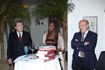 Van links naar rechts: Matthias Kleinert; Yamila Putz; Volker Schloendorff