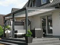 Glaskompetenz Produkt Terrassenüberdachung