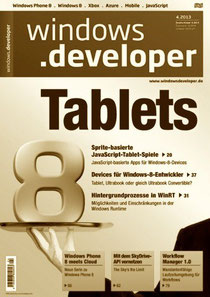 Cover-Foto Windows Developer 4.2013
