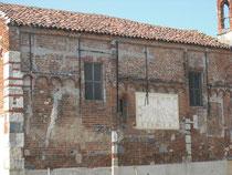 Particolare facciata sud