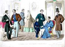 1857年Mens Fashions(出典:Wikipedia Commons) クリックで拡大