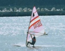 Sailing at Kochi sea in 1984 (InoueK)