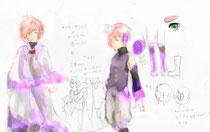 男性キャラクター原案