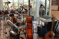 Julius Nötzli Instrumente im Rest. Schäfli, Foto: Maag-isch®