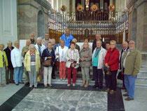 Gruppe im Dom zu St. Blasien