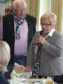 Grüße aus Olfen in Westfalen überbrachte Inge Schmerfeld