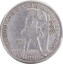 24 Mariengroschen Braunschweig 1698