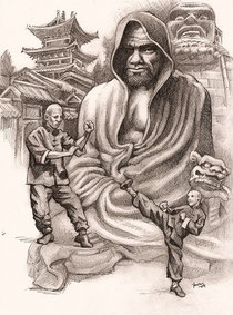 Bodhidharma (Tamo in China, Daruma in Japan) © All Rights Reserved