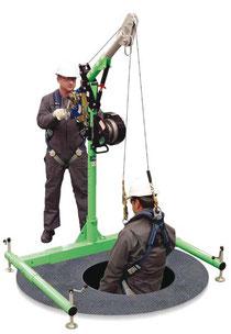 5-Piece Davit-Arm Hebesystem, Rettungssystem für Enge Räume