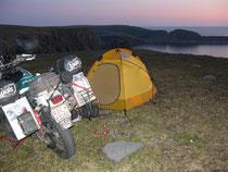 Camping am Nordkap
