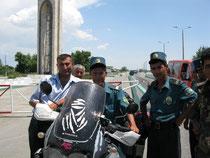 Polizeikontrolle in Usbekistan