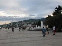 Yalta, am Schwarzen Meer