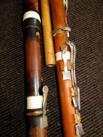 Traversflöte,klassischeKlappenflöte
