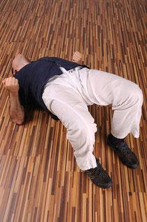 Die Brücke - eine Übung für eine kräftige und bewegliche Rumpfmuskulatur.