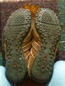 Ein Blick auf Ihre Schuhsohlen verrät viel.
