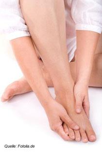 Die Füße - ein leider häufig vernachlässigter Teil des Körpers.