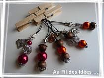 Bijoux pour tél - Créations fév 2011