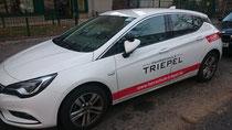 Schulungsfahrzeug von Michael Triepel