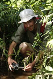 Florian Bernier à Madagascar © Sarah Delben Août 09