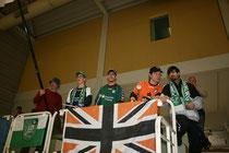Anhänger der U15 vom FCR Duisburg