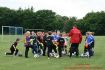 Die Kids im DFB-Training