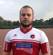 Neuer Kapitän der Zweiten: Alex Rothe.