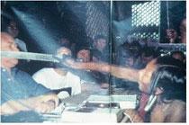 1988年アルタミラでのブラジル電力会社とインディオ