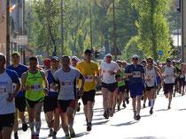 Über die Hälfte der Läufer leidet unter Beschwerden