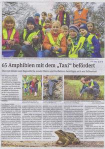 Volksstimme Schönebeck vom 26. März 2014 (Thomas Schäfer)