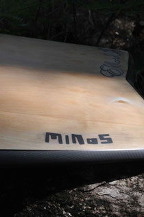 mini simmons surfboard carbon