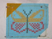 Falter, Sticker; Foto: b.ertl
