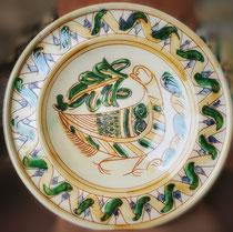 Piatto - Ceramica graffita - area Veneta