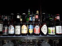 De speciaal bieren van de fles bij El & Ben