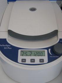 Zentriifuge für Mikrolitergefäße