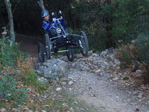 la Quad-VTT la liberté à 4 roues