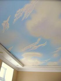 худодественная роспись потолка