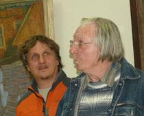 Фото с открытия выставки посвящённой семидесятилетию со дня рождения.