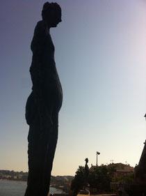 アンティーブピカソ美術館からの眺め