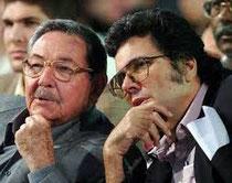 Raùl Castro e Abel Prieto
