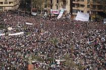 manifestazione al Cairo