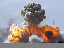 """Il volto """"umanitario"""" dei paesi occidentali. Bombe all'uranio impoverito sulla Libia"""
