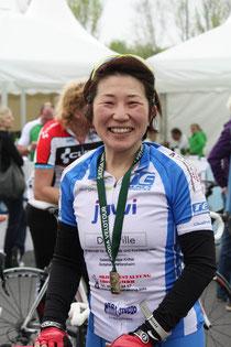Mami Nakamura belegt Platz 16 in ihrer Alterklasse