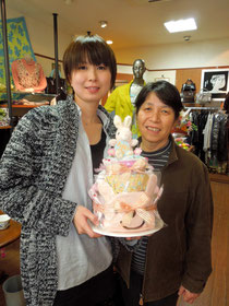 田村由香さんとお母様