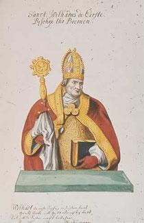 Willehad  Bischof von Bremen.