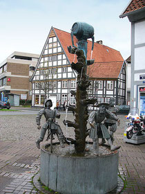 Kanzlerbrunnen in Lemgo