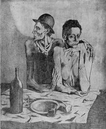 """""""Das karge Mahl"""" - Picasso."""